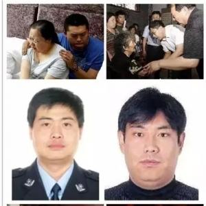 【悼战友!哭警嫂!】肃宁县公安局牺牲政委妻子今晨跳楼身亡