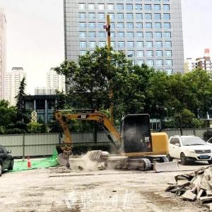 临汾向阳东西路示范街提质改造工程启动